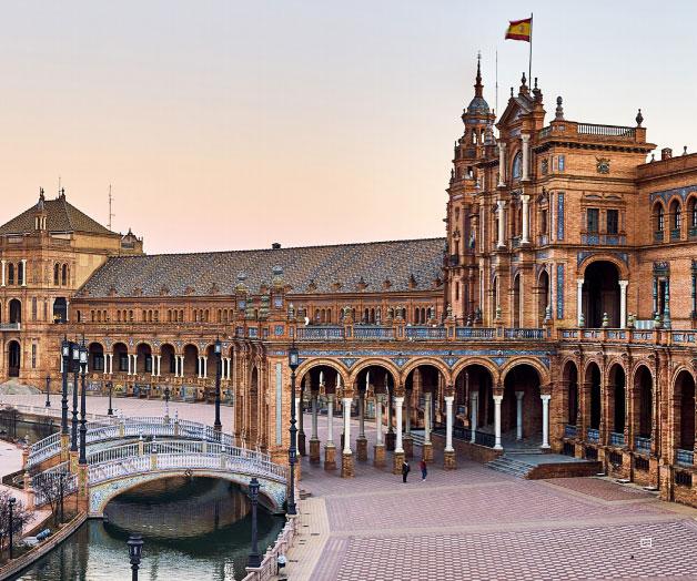 The Plaza de España, Seville